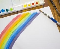 水彩画、絵