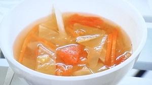 ラヴィット:和風ドレッシングで酸辣湯のレシピ!
