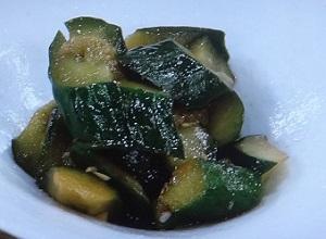 家事ヤロウ:きゅうりのおつまみのレシピ!吉田明世アナ
