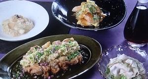 【きょうの料理】大原千鶴の蒸しなすの利休和えのレシピ!甘酢だれで