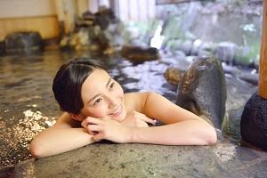 露天風呂、岩盤浴