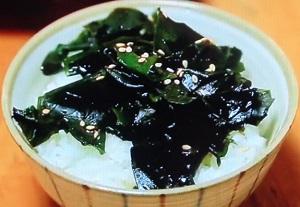 【家事ヤロウ】ワカメ丼のレシピ!橋本マナミ