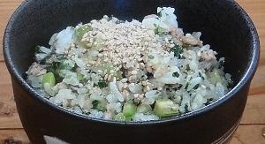 【あさイチ】セロリとおかかの混ぜご飯のレシピ!篠原武将