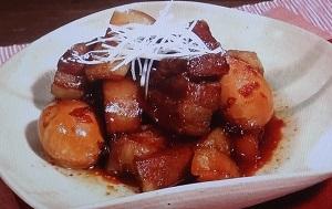 ソレダメ:豚の角煮のレシピ!あまこようこさんが松本伊代さんに伝授