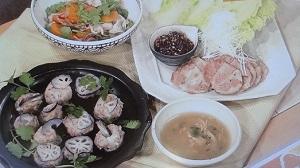【農家めし】平野レミの三段活用のれんこん蒸しレシピ!和田明日香