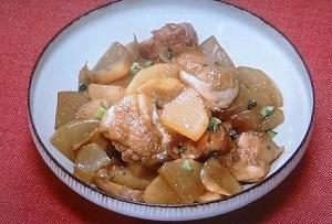 大根と鶏肉の甘辛しょうが煮の レシピ!重信初江【きょうの料理】