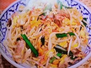 【スッキリ】ゆうこりんのパッタイ(焼きそば)のレシピ!小倉優子さんのタイ料理