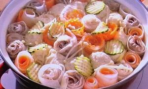 【ZIP】トレンドの「お花畑鍋」のレシピ!便利グッズを使って