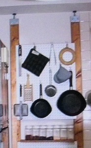 【ヒルナンデス】賃貸でもできる壁掛け収納の作り方!プロのキッチン覗くンデス