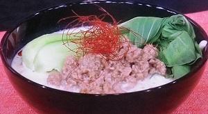 【ヒルナンデス】豆乳坦々うどんのレシピ!吉永沙矢佳!3分でできる時短ランチ