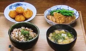 【男子ごはん】鶏肉の梅肉みぞれ煮のレシピ!春の和定食