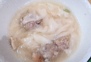かりそめ天国 :麺創庵 砂田の「超極薄ワンタン」!ワンタンのおいしいお店:オカリナ厳選