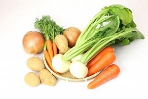 野菜、カブ,にんじん、じゃがいも