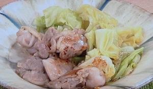 鶏とキャベツの塩蒸し焼きのレシピ