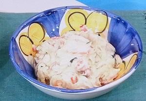 【家事ヤロウ】ゆうこりんの塩昆布とクリームチーズのポテトサラダのレシピ!