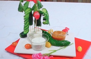 【モニタリング】平野レミのBBK with ディップのレシピ!フジモンが母の日に