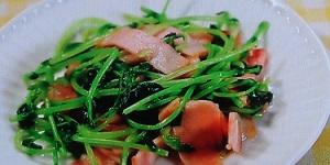【ヒルナンデス】マコさんの豆苗の無限レシピ3品!豆苗塩昆布マヨ、豆苗ベーコンほか