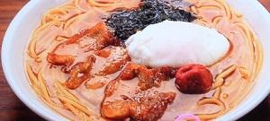 ラーメン風スープスパゲッティ