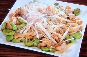 【鉄腕ダッシュ】松岡特製!そら豆と豚肉の豆板醤炒めのレシピ!