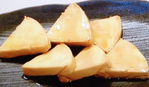 チーズとごま油でやみつきおつまみ