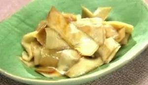 【モニタリング】平野レミの大根の皮った漬物のレシピ!あまった皮でできる