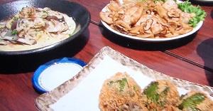 鉄腕ダッシュ:椎茸のクリームパスタのレシピ!八丈島の男メシ