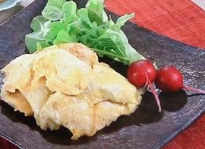きょうの料理:大原千鶴の鶏むね肉の黄金焼きのレシピ!お助けレシピ