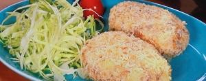 ZIP:揚げないレンチンコロッケのレシピ!タケムラダイ!面倒料理の簡単調理法