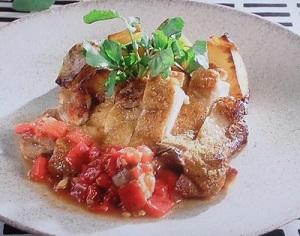 サタデープラス:鶏もも肉のソテーのレシピ!JA全農神レシピ