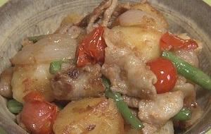 トマト入り肉じゃがのレシピ!減塩でも美味しい!本田よう一:シブ5時