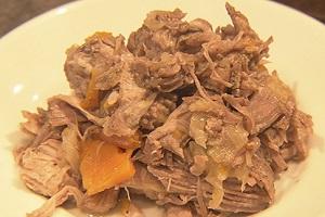 プルドポークの簡単レシピ!北米の定番料理:あさイチの豚肉のチカラ