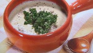 スッキリ:美腸スープ「さば缶と里芋のポタージュ」のレシピ! あつし(Atsushi)