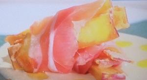 にじいろジーン:サツマイモの生ハム巻き 豆乳ソースのレシピ!ミシュランシェフのふるさとクッキング