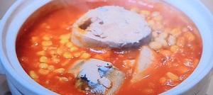 ヒルナンデス:サバ缶とトマトの洋風小鍋レシピ!浜内千波