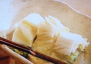 白菜のぬか漬け