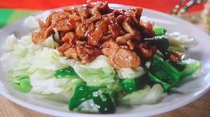 ヒルナンデス:木金レシピ3品まとめ!カニかま天津飯、チヂミ、回鍋肉風肉味噌キャベツ