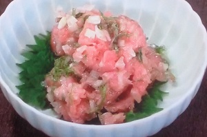きょうの料理:アジのなめろうのレシピ!野間口徹