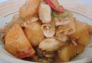 ヒルナンデス:五十嵐美幸シェフのかきの絶品肉じゃがのレシピ!料理の超キホン検定
