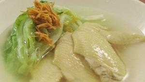シブ5時:有賀薫さんのレタスの湯びきスープのレシピ!しょうがだれも