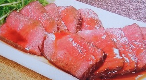 土曜はナニする ポリ袋レシピ:ローストビーフのレシピ!マコさん