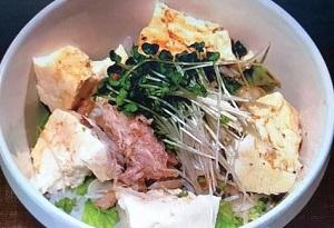 ひるまえほっと:さば缶と豆腐ののっけ丼のレシピ!今泉久美
