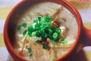 スッキリ:Atsushi(あつし)の美腸スープのレシピ!豆腐と豆乳のとろとろスープ