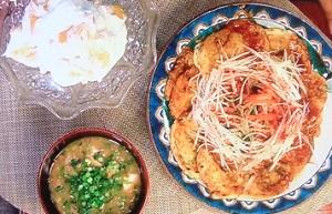 家事ヤロウ:IKKOの大和芋のチヂミ&ナムル、納豆汁のレシピ!激ウマ朝食