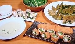小松菜の翡翠餃子
