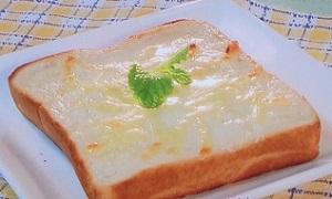 チーズケーキ風トーストのレシピ!クリームチーズ不要で簡単「エスプリ」:アップ