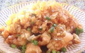 土曜はナニ(何)する:ジューシーから揚げのレシピ!特製ネギだれも!山本ゆり