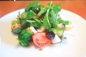 世界一受けたい授業:豚肉と栗マロンカボチャのパワーサラダのレシピ!