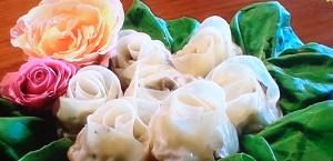 シブ5時:いちごモツあんギョーザのレシピ!デザートギョーザ :パラダイス山元