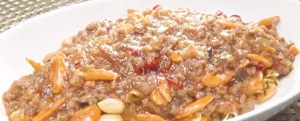 ウチのガヤ:別府ちゃんの 麻婆麺レシピ!ホルモンのナヲが挑戦