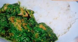 ヒルナンデス:グリーンポークカレーのレシピ!印度カリー子!スパイスカレー